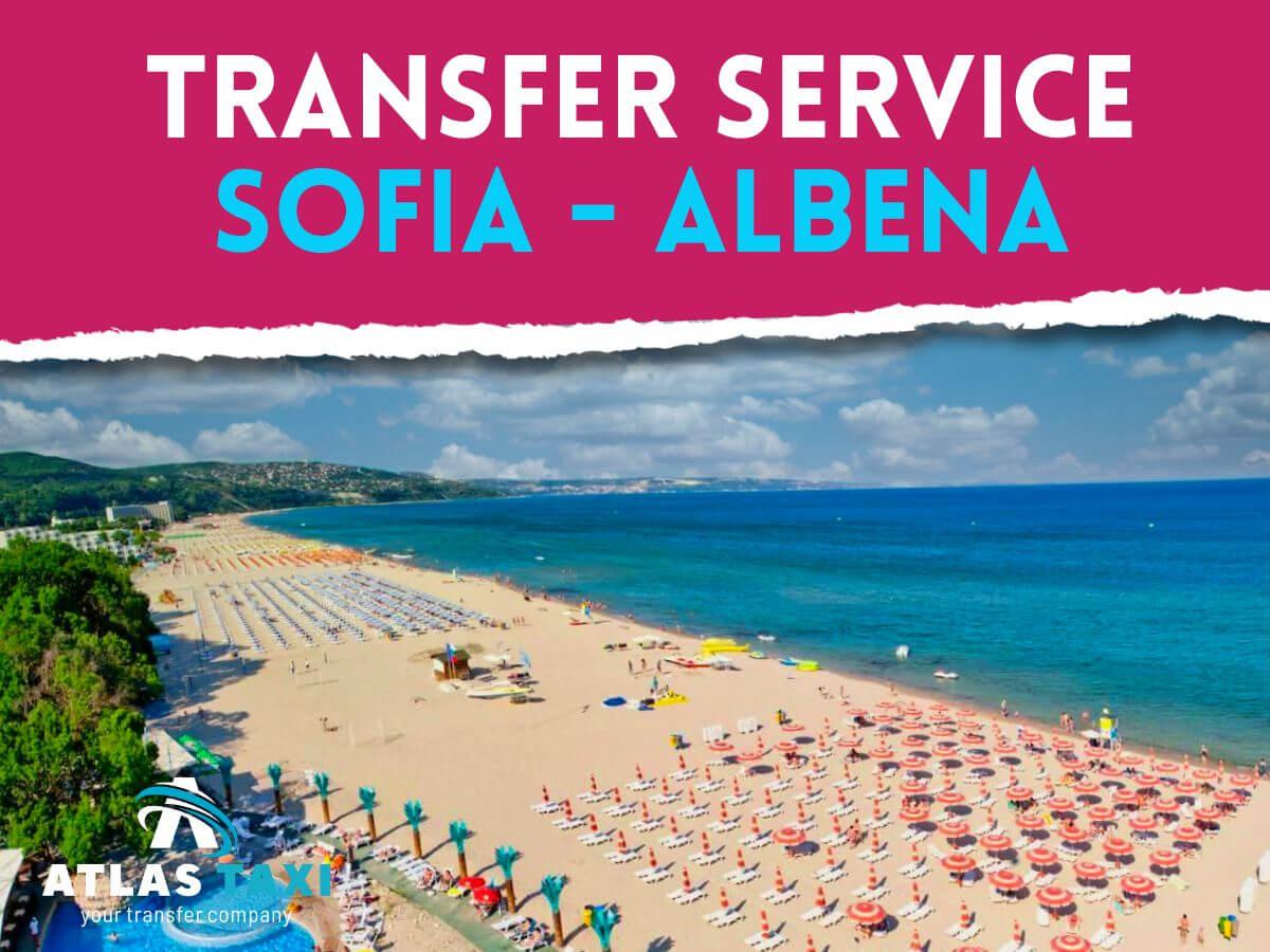 Taxi Transfer Service Sofia Albena