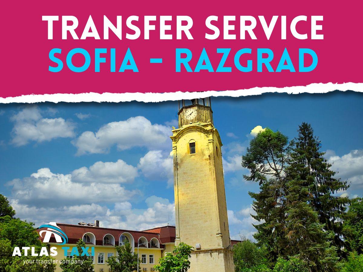 Taxi Transfer Service Sofia Razgrad
