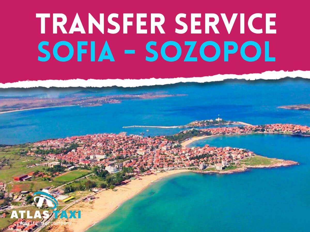 Taxi from Sofia to Sozopol