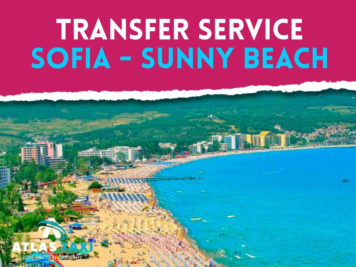 Taxi To Sunny Beach from Sofia Transfer Service