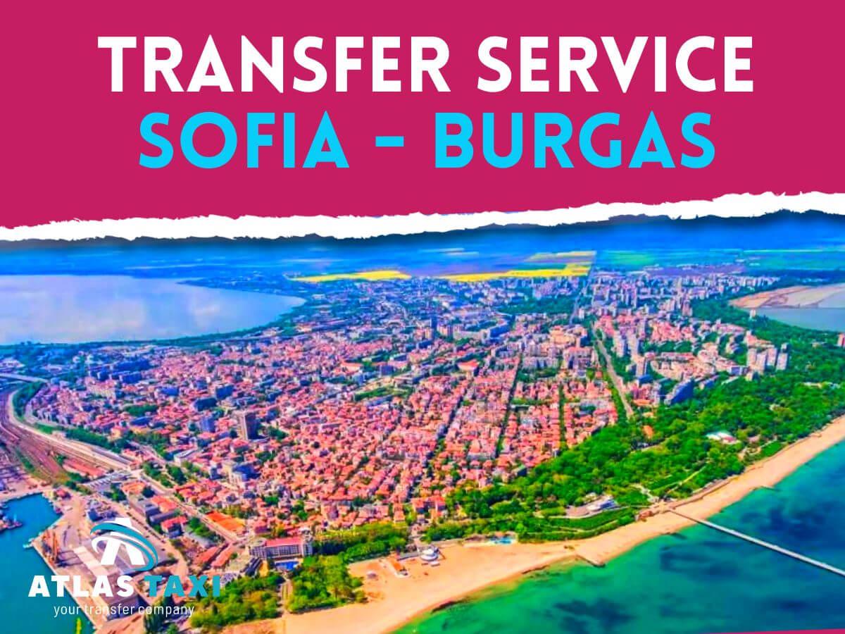Taxi Transfer Service Sofia Burgas