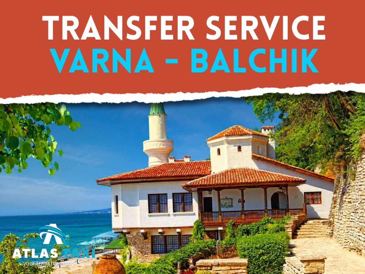 Taxi Transfer Service Varna Balchik