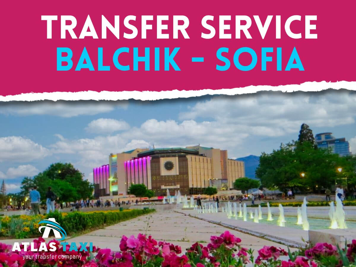 Taxi Transfer Service from Balchik to Sofia