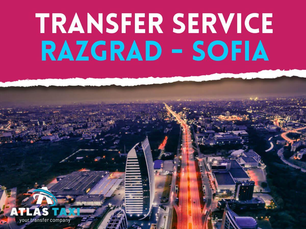 Taxi Transfer Service from Razgrad to Sofia