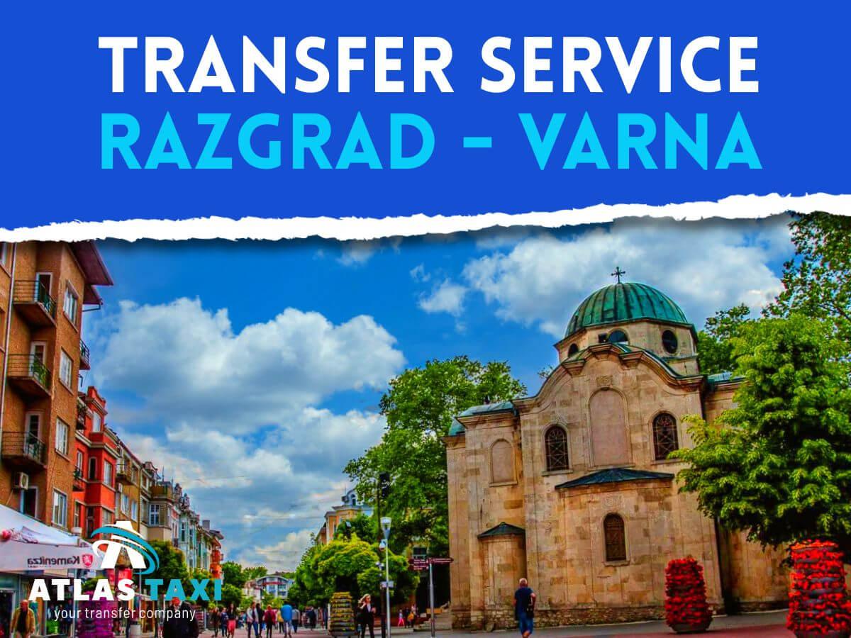 Taxi Transfer Service from Razgrad to Varna