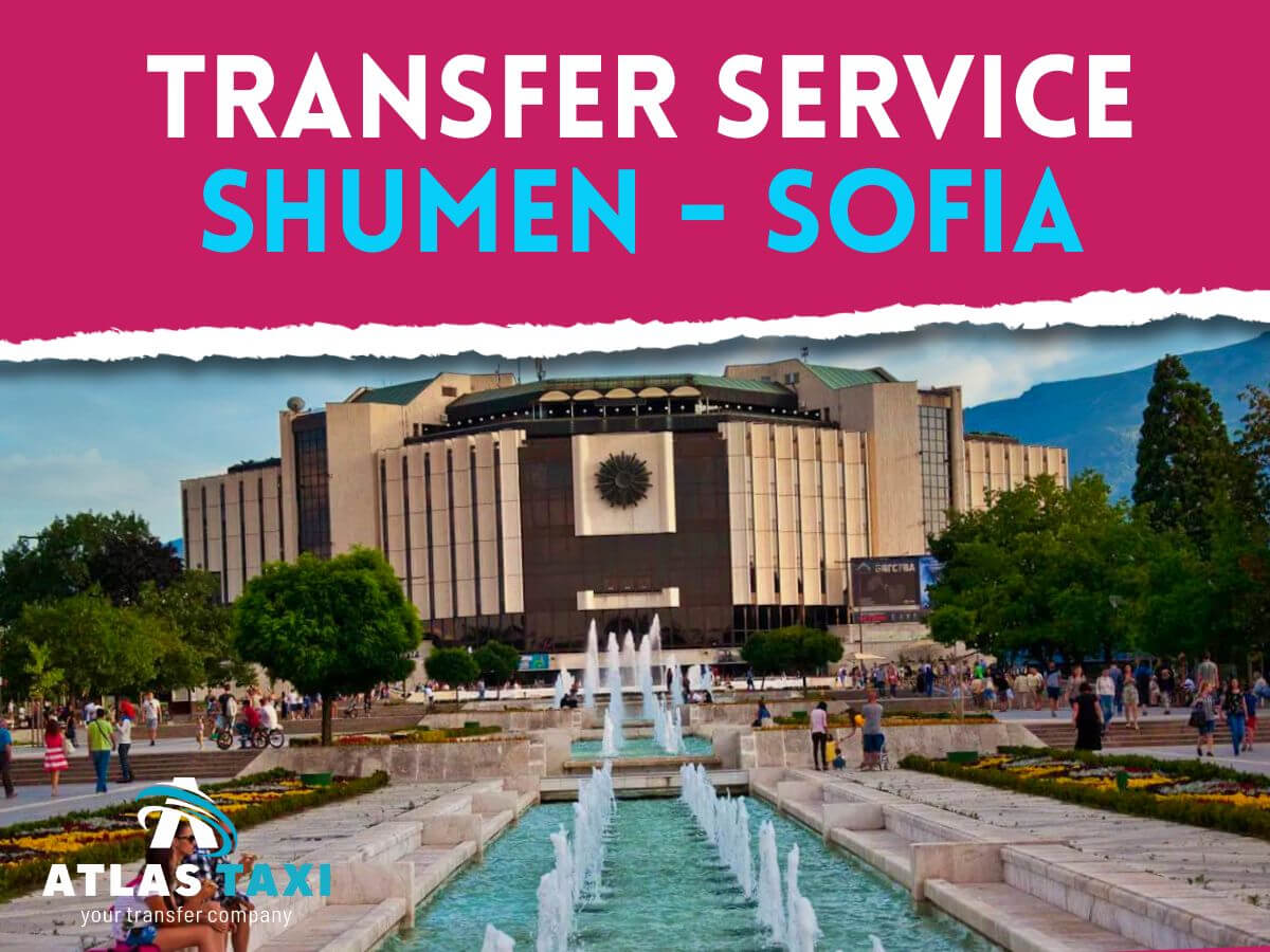 Taxi Transfer Service from Shumen to Sofia