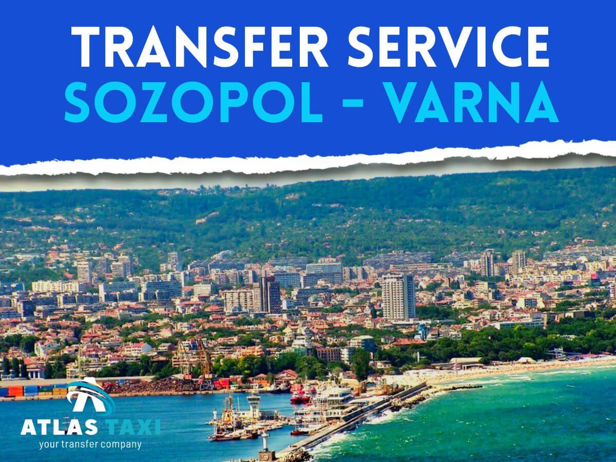 Taxi Transfer Service from Sozopol to Varna