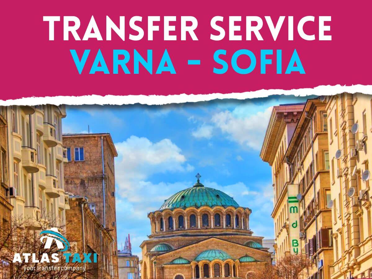 Taxi Transfer Service from Varna to Sofia