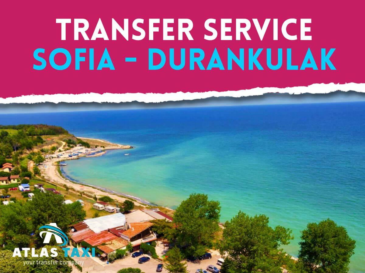Taxi Transfer Service from Sofia to Durankulak